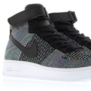 NIKE AIR FORCE 1 ULTRA FLYKNIT MID MULTI-COLOR